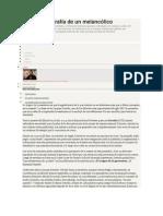 Derrida - Biografia de Un Melancolico