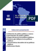 Ciclo Politicas Publicas