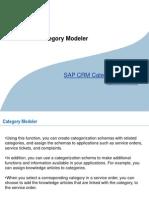 Category Modeler