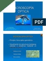 MICROSCOPIA OPTICA