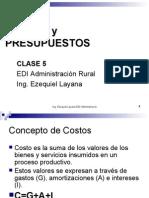 Clase 5.EDI Costos y Presupuestos