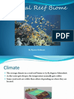 the coral reef biome powerpoint