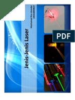 Berbagai jenis Laser