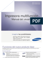 Samsung (SCX-4828FN) All-In-One Printer Spanish Users Manual
