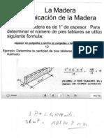 Calculo de La Madera