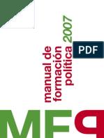 Manual de Formación Política 2007