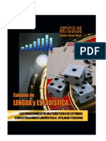 Los procedimientos matemáticos en estudios e investigaciones lingüísticas. Riesgos y beneficios