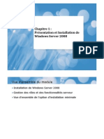 Chapitre 1 Windows 2008