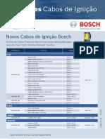 Bosch Cabos ignição lançamentos