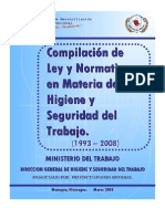 Compendio Normativo Hig Seg Nicaragua