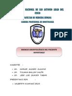 Guia Para Manejo Estomatologico Del Paciente Hipertenso Final