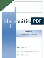Comandos Ejemplo Matlab