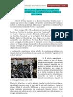 4. LA REPERCUSIÓN EN EL APRENDIZAJE DEL PASO DEL MODELO DE ENSEÑANZA NAPOLEÓNICO AL ANGLOSAJÓN
