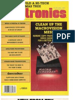 RE - 1987-12 | Electronics | Electronic Engineering