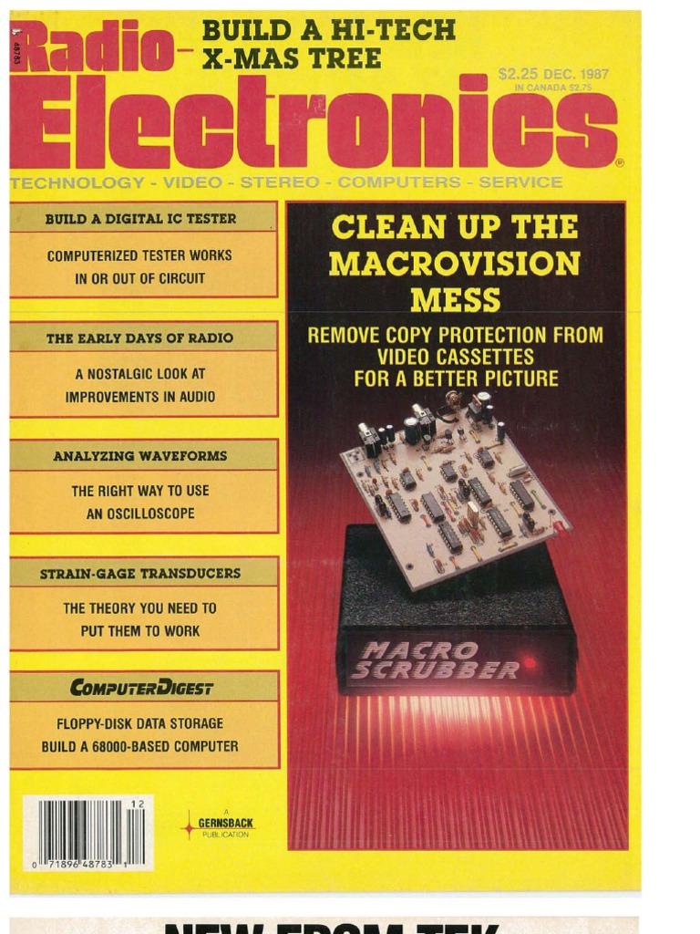 Re 1987 12 electronics electronic engineering fandeluxe Choice Image