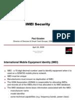 IMEI Security