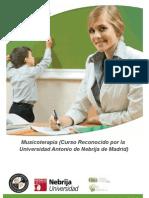 Curso Musicoterapia Online