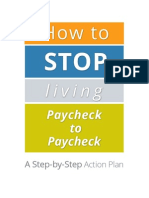 How to Stop Living Paycheck to Paycheck a Step by Step Action Plan