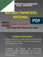 CLASE N° 001 SISTEMA FINANCIERO NACIONAL