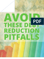 Avoid These Debt Reduction Pitfalls