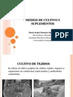 Medios de Cultivo y Suplementos