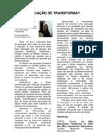 A EDUCAÇÃO SE TRANSFORMA, por Jainara Cardoso, Canarana-BA