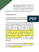 PRELAC. Calidad de La Ed. y DD.hh (2)