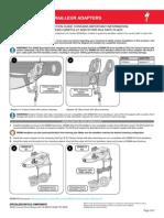 Derailleur SRAM XX FD Adapter Instruction Guide