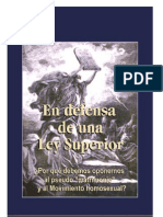 En Defensa de Una Ley Superior