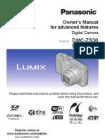 Panasonic DMC-ZS30 Owner's Guide