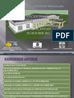 Laporan Mingguan Projek Pembinaan