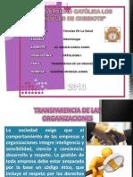 Transparencia en La Organizaciones