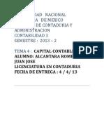 Tema 4 Capital Contable Conta 3