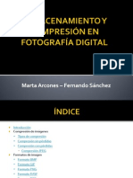 Almacenamiento y compresión en fotografía digital