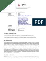 HU98 Taller de Redaccion 201301