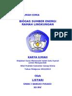 Karya Ilmiah Biogas
