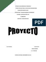 Proyecto Sostenible Pedro
