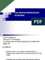 Las Democratizaciones Recientes (3)