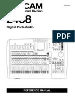 Tascam 2488 MIDI Reference Manual