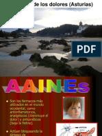 Clasificación general de analgésicos (AAINES)