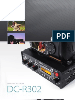 Fostex DC-R302 Brochure