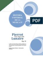 Pierrot Lunaire Op 21