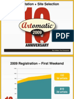 Artomatic 2009 Orientation Slides