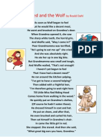 Little Red and the Wolf by Roald Dahl.docx