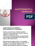 ♥Mantenimiento a hardware