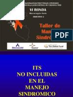Taller de Manejo Sindromico - 3er Dia