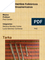 Instrumentos Latinoamericanos - Trabajo Mariana