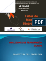 Taller de Manejo Sindromico - 1er y 2do Dia