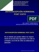 3. Anticonceptivo Hormonal Oral Post-coito