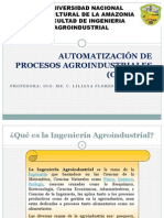 AUTOMATIZACIÓN DE PROCESOS AGROINDUSTRIALES (CB – F211)